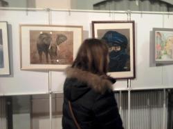 exposition de peinture Suresnes 2012 Laure-Anne
