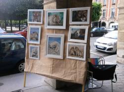Place des Vosges Peintres du Marais