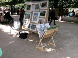 exposition Laure Anna peintre du Marais Square Jean XXIII Paris