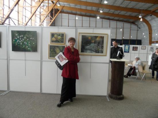 Exposition 2012 for Salon des beaux arts