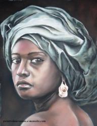 portrait de femme africaine