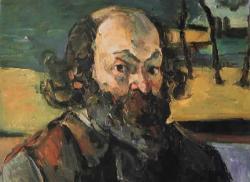 Autoportrait cezanne