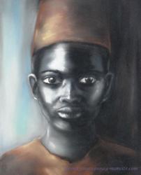portrait enfant noir